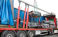 transport spécial pour évacuation des déchets amiante de toit